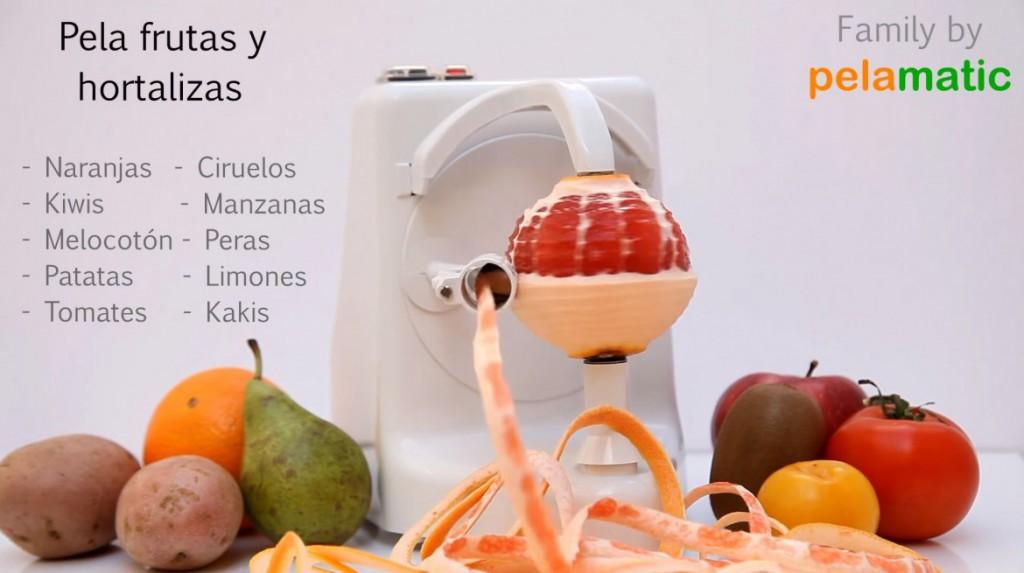 Elektrisk apelsinskalare och citrusskalare